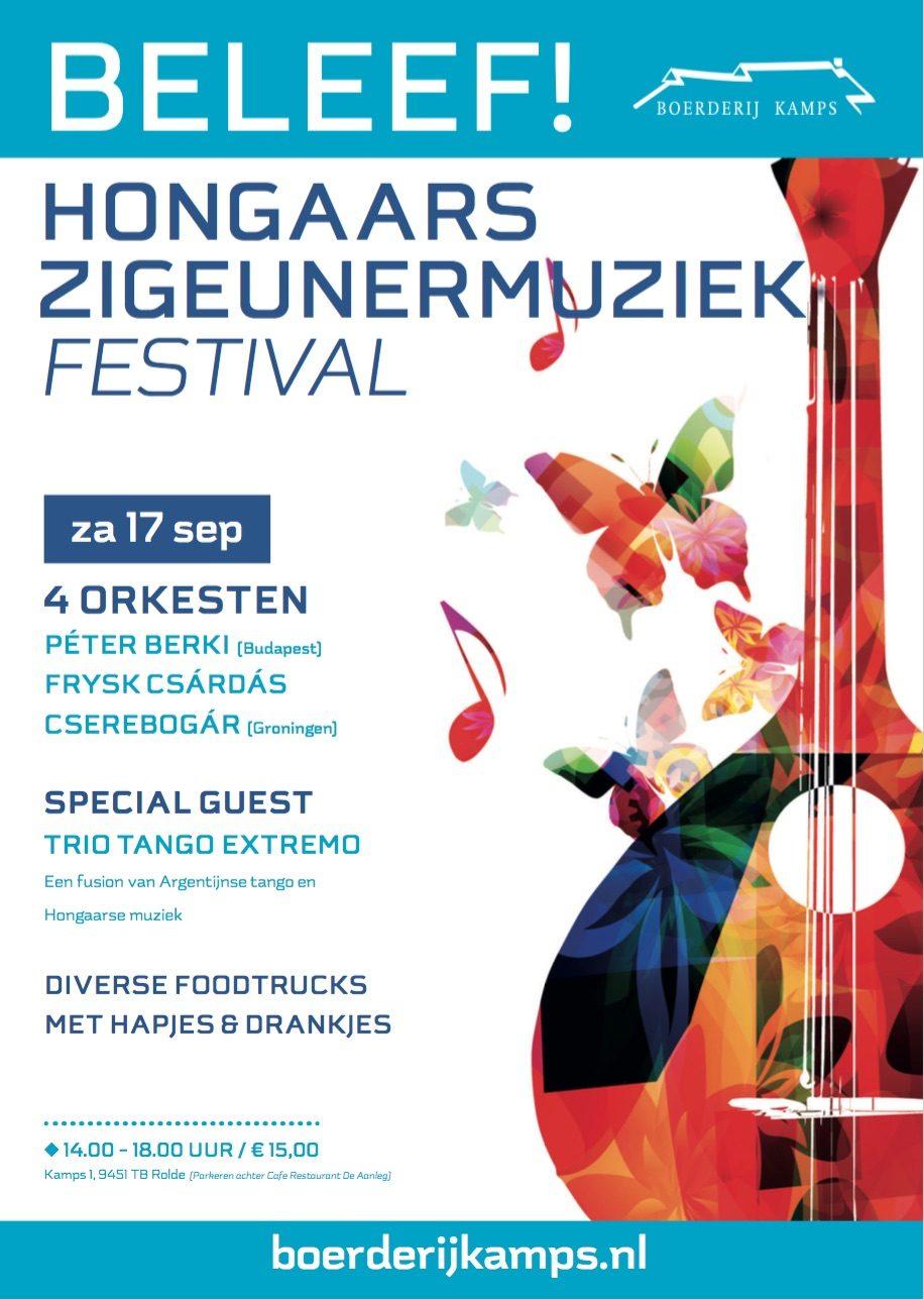 17 september 2016 – Festival van de Hongaarse Zigeunermuziek