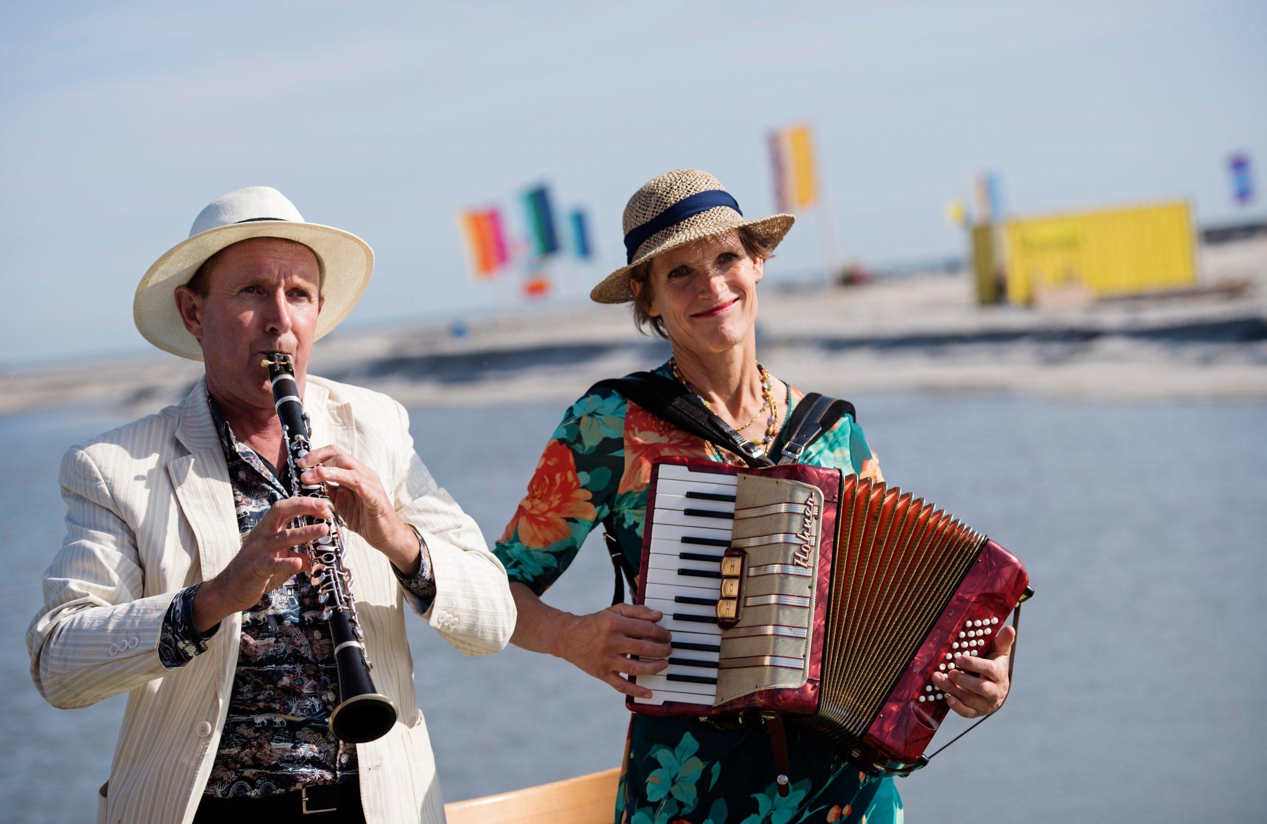 4 oktober 2020 – Gonne Klein & Willem Gülcher – Duo Dorable – 12.30u en 14.30u